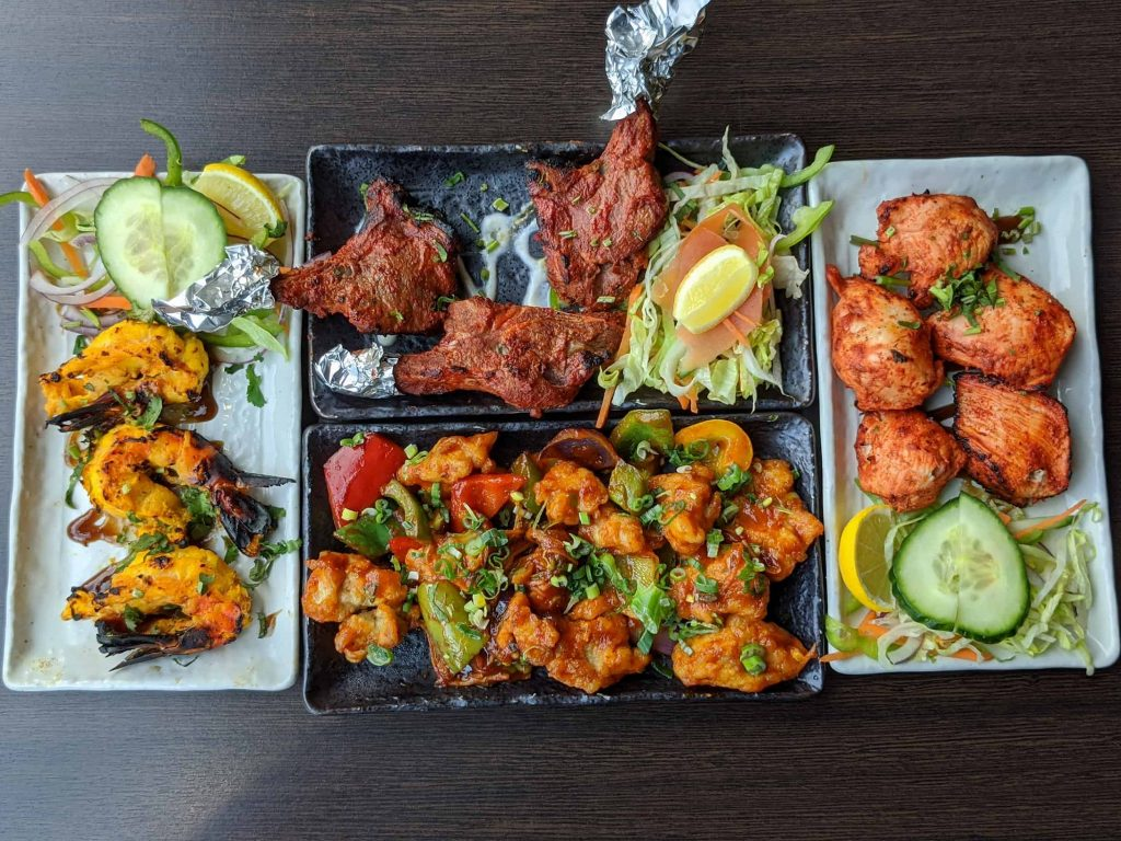 Indian Tapas Dishes