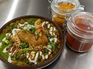 Samosa Chaat Sensational Indian street food
